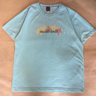 モンベル(mont bell)のモンベル mont bell Tシャツ 花柄 速乾 ウィックロン 機能素材(Tシャツ(半袖/袖なし))