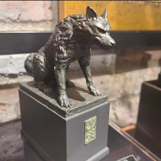 ジブリ(ジブリ)の渋谷MIYASHITA PARK限定 もののけ姫山犬 ハチ公像(キャラクターグッズ)