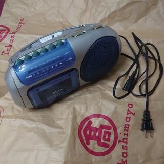 オームデンキ(オーム電機)の平成レトロ ラジカセ MCR-336(ポータブルプレーヤー)