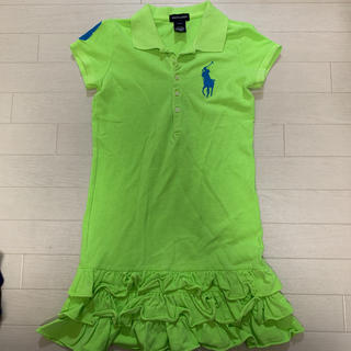 Ralph Lauren - ラルフローレン ポロシャツ ワンピース 130 ポロワンピ ライトグリーン