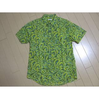 ジーユー(GU)のGU 半袖シャツ ペイズリー柄(シャツ)