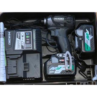 ヒタチ(日立)のハイコーキ 日立 WH36DA インパクトドライバー ブラック 新品未使用(工具/メンテナンス)