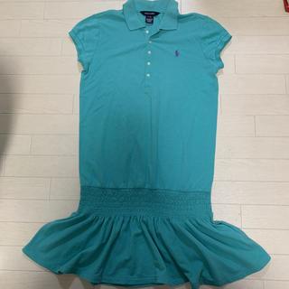 Ralph Lauren - ラルフローレン ポロシャツ ワンピース 160 ポロワンピ ブルーグリーン系