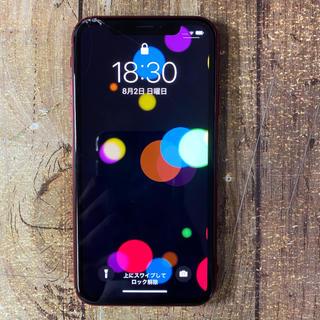 アイフォーン(iPhone)のiPhone XR 64gb SIMフリー ジャンク(スマートフォン本体)