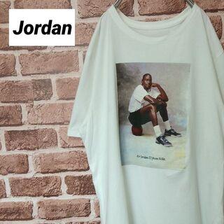 《ジョーダン》希少 ヴィンテージTシャツ エアジョーダン3 フォトプリント(Tシャツ/カットソー(半袖/袖なし))
