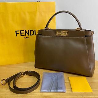 FENDI - 使用3回のみ❤️  FENDI フェンディ ピーカブー トートバッグ