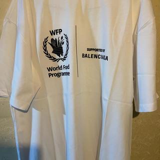 Balenciaga - バレンシアガバックプリントXSオーバーサイズ美品