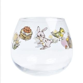 フランシュリッペ(franche lippee)の【未使用】フランシュリッペのハイチーズ柄ゆらりんグラス(グラス/カップ)