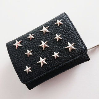 ◇ 星  スタッズ  ブラック ミニ財布✨(財布)