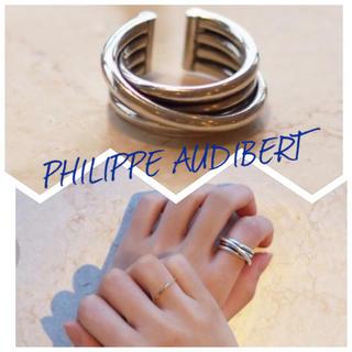 フィリップオーディベール(Philippe Audibert)のPHILIPPE AUDIBERT 4ラインリングbagueNewAfrica4(リング(指輪))