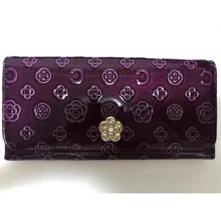 クレイサス(CLATHAS)の長財布(パープル)(財布)