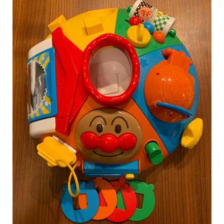 バンダイ(BANDAI)のベビラボ アンパンマン 脳を育む まんまる いたずらあそびDX(知育玩具)