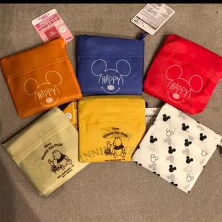 ディズニー(Disney)の新品タグ付 ダイソー ディズニー エコバッグ 6個セット(エコバッグ)
