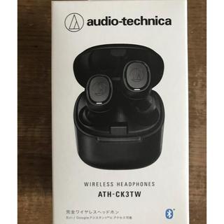 オーディオテクニカ(audio-technica)のaudiotechnica ワイヤレスイヤホン ATH-CK3TW(ヘッドフォン/イヤフォン)
