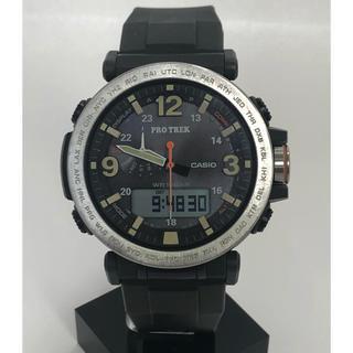 ジーショック(G-SHOCK)のCASIO PROTREK PRG-600 タフソーラー トリプルセンサー(腕時計(デジタル))