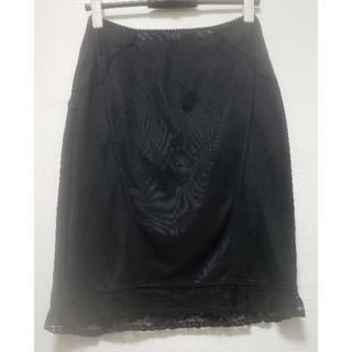 ドルチェアンドガッバーナ(DOLCE&GABBANA)のDOLCE&GABBANA レース・刺繍 膝丈 ニットスカート(ひざ丈スカート)