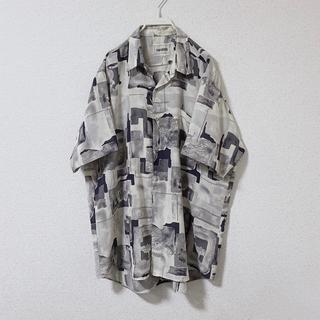 ハレ(HARE)のused monotone pattern shirt(シャツ)