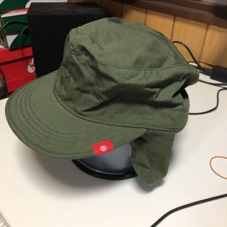 ステューシー(STUSSY)の帽子 ワークキャップ stussy 熱中症(キャップ)