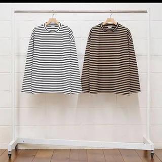 アンユーズド(UNUSED)のunused 19aw ボーダーロンT(Tシャツ/カットソー(七分/長袖))