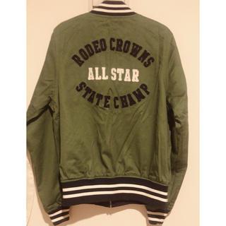 RODEO CROWNS - ロデオクラウンズ  リバーシブルスタジャン ma-1