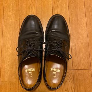 リーガル(REGAL)の【vintage様】REGAL ビジネスシューズ 革靴 黒(ドレス/ビジネス)