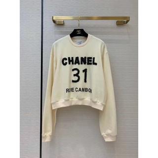 CHANEL - CHANEL シャネル☆コットン エクリュ プルオーバー