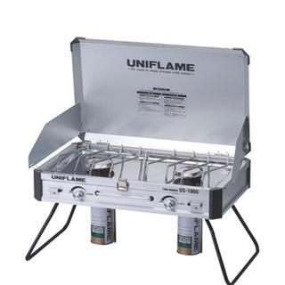 ユニフレーム(UNIFLAME)のユニフレーム ツインバーナー US-1900 ツーバーナー 新品未使用(ストーブ/コンロ)
