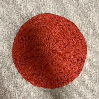 カスタネ(Kastane)の最終値下げ! Kastane ニット ベレー帽(ハンチング/ベレー帽)