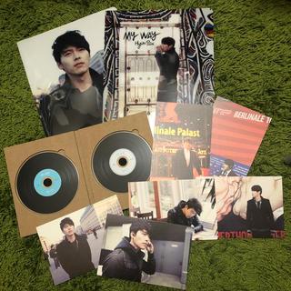 ヒョンビン♡myway ポストカード&DVD &クリアファイル