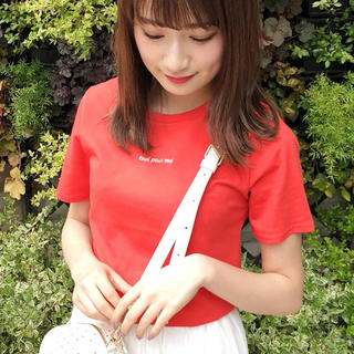 ダズリン(dazzlin)のdazzlin エンブロイダリーロゴTシャツ(Tシャツ(半袖/袖なし))