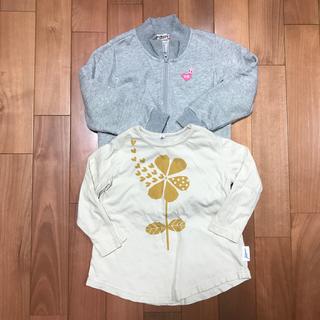 マーキーズ(MARKEY'S)のマーキーズ 5分袖 Tシャツ、ホットビスケッツ アウター 110cm  おまとめ(Tシャツ/カットソー)
