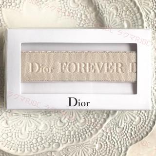 クリスチャンディオール(Christian Dior)の【新品未開封】ディオール ノベルティー ヘアーバンド ヘッドバンド アースカラー(ヘアバンド)