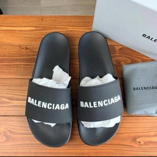 バレンシアガ(Balenciaga)の【新品 未使用】 バレンシアガ プールロゴサンダル(サンダル)