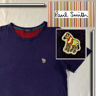 Paul Smith - 美品 paul smith ゼブラ ポールスミス カラー tシャツ パープル