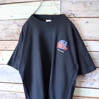 プラネットハリウッド HONGKONG 刺繍ワンポイント M(Tシャツ/カットソー(半袖/袖なし))