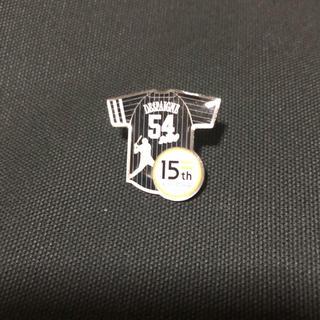 福岡ソフトバンクホークス - 福岡ソフトバンクホークス 15周年記念ユニ デスパイネピンバッジ
