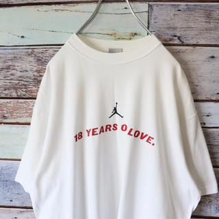 ナイキ(NIKE)のNIKEナイキ JORDANジョーダン Tシャツ バックプリント XL(Tシャツ/カットソー(半袖/袖なし))