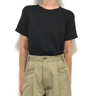 ヘインズ(Hanes)のデッドストック! 80's SCREEN STARS T USA製 S ブラック(Tシャツ(半袖/袖なし))