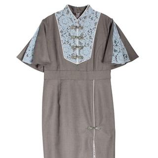 パメオポーズ(PAMEO POSE)の【pyさま専用】PAMEOPOSE Shenfa Dress(ひざ丈ワンピース)