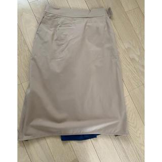 バーニーズニューヨーク(BARNEYS NEW YORK)の新品未使用バーニーズニューヨーク変形スカート(ひざ丈スカート)