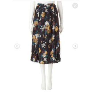 ココディール(COCO DEAL)のココディール  スカート 花柄(ロングスカート)