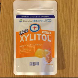 キシリトール100%ガム オレンジ味 歯科専用(口臭防止/エチケット用品)