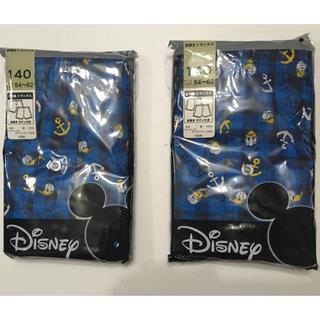 ディズニー(Disney)の男児  Donaldプリントトランクス 140cm (下着)