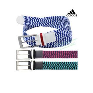 アディダス(adidas)の新品未使用 アディダス メッシュベルト メンズ グリーン(ベルト)