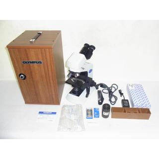 オリンパス(OLYMPUS)の美品 オリンパス CX22LED 教育 生物 顕微鏡 付属品多数 動作確認済み(その他)