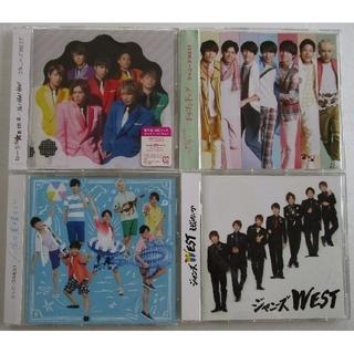 ジャニーズWEST - ジャニーズWEST シングル 通常盤 CD 4種