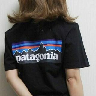patagonia - ユニセックス品!パタゴニアTシャツブラック XS