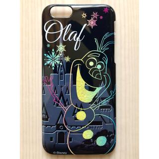 ディズニー(Disney)の新品 iPhone6 iPhone6s スマホケース アナと雪の女王 オラフ(iPhoneケース)