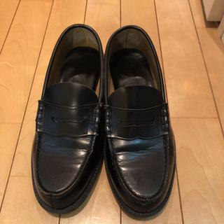 HARUTA - ハルタ  ローファー 24.5EEEサイズ 黒 6550