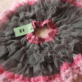 Shirley Temple - タグ付き新品未使用 パンパンチュチュ チュチュプリンセス パリスグレー M